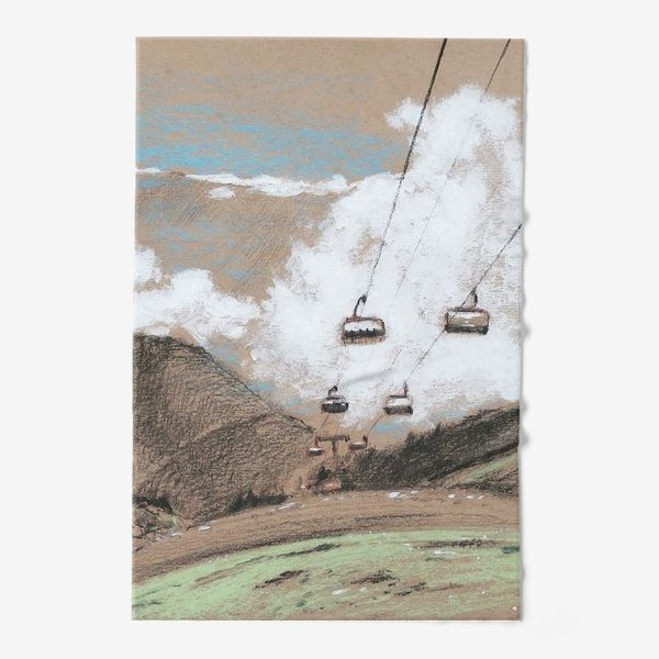 Полотенце «Над облаками В горах»