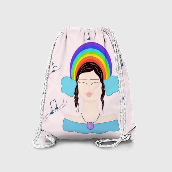 Рюкзак «Радужная музыка»