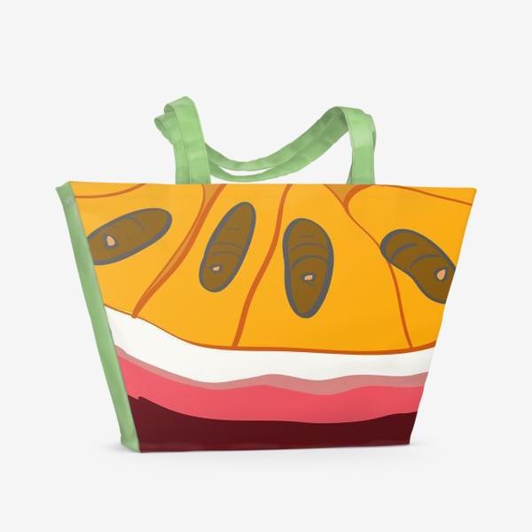 Пляжная сумка «Маракуйя»