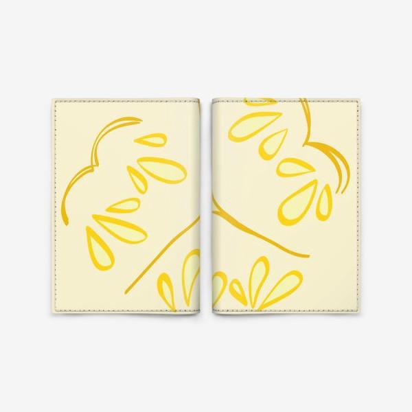 Обложка для паспорта «Дыня»