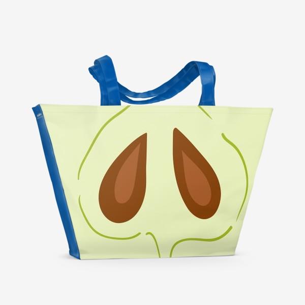 Пляжная сумка «Яблоко»