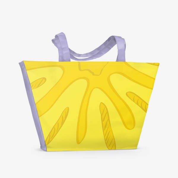Пляжная сумка «Ананас»
