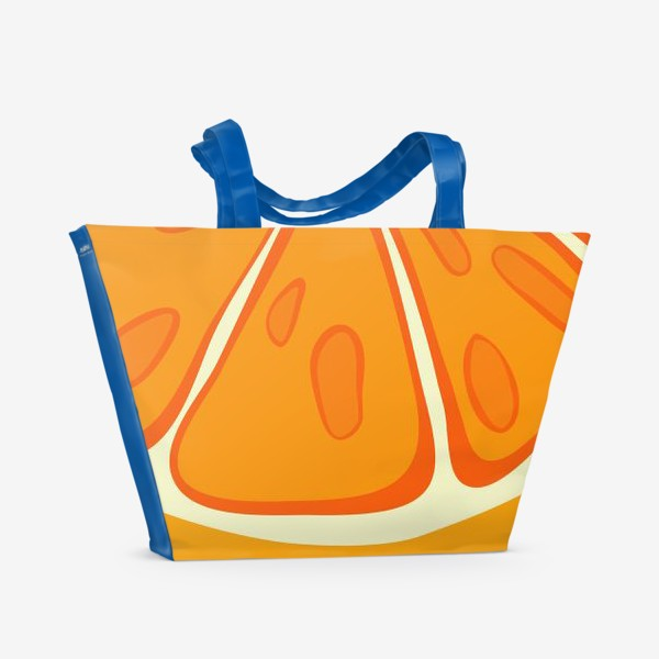 Пляжная сумка «Апельсин»