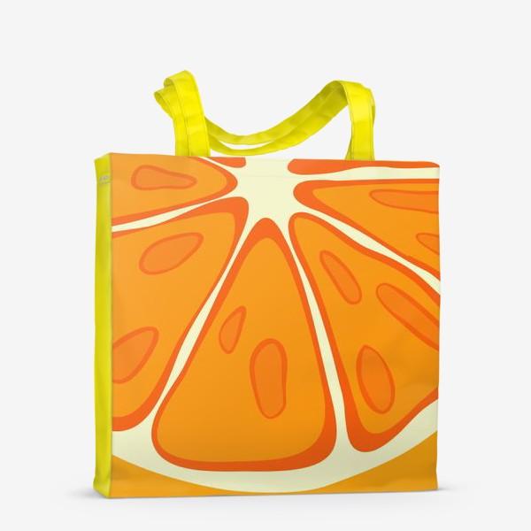 Сумка-шоппер «Апельсин»
