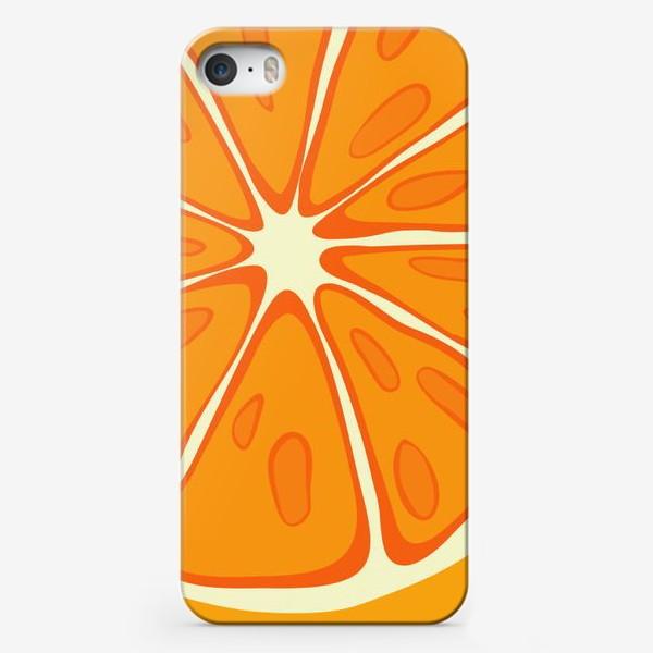 Чехол iPhone «Апельсин»