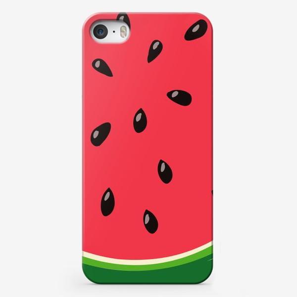Чехол iPhone «Арбуз»
