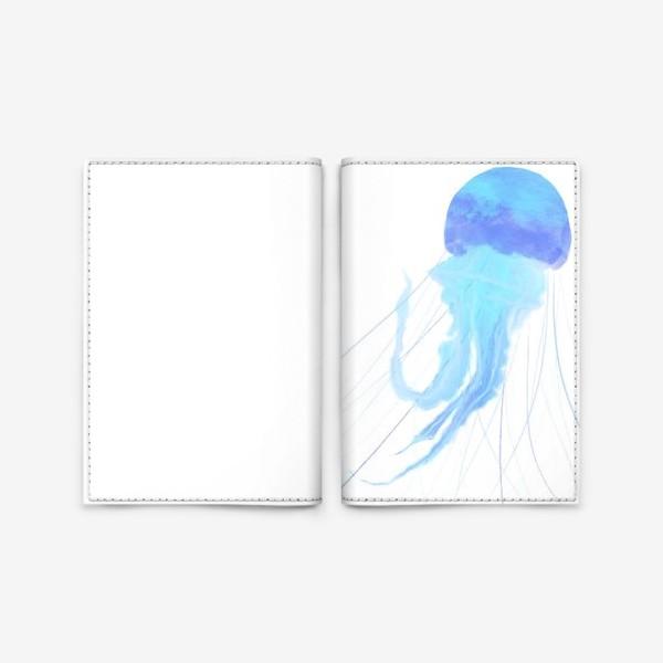 Обложка для паспорта «Медуза »