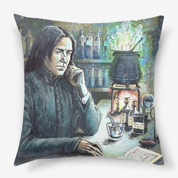 Подушка «Волшебному учителю!»
