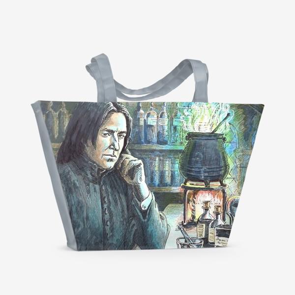 Пляжная сумка «Волшебному учителю!»