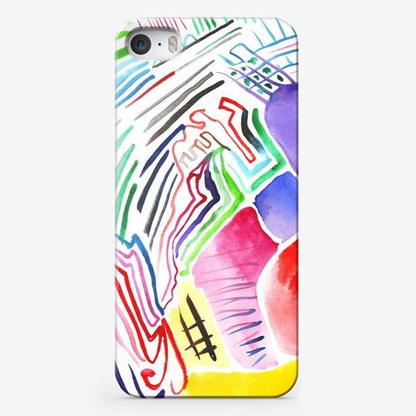 Чехол iPhone «Цветная абстракция»