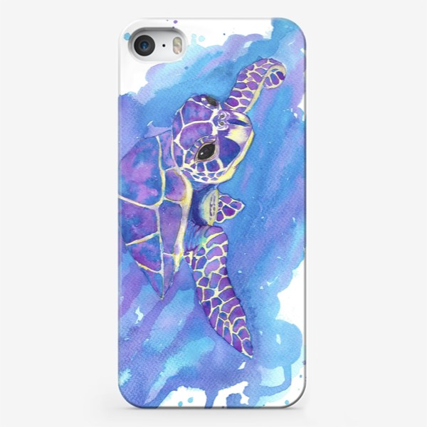 Чехол iPhone «Морская черепаха»