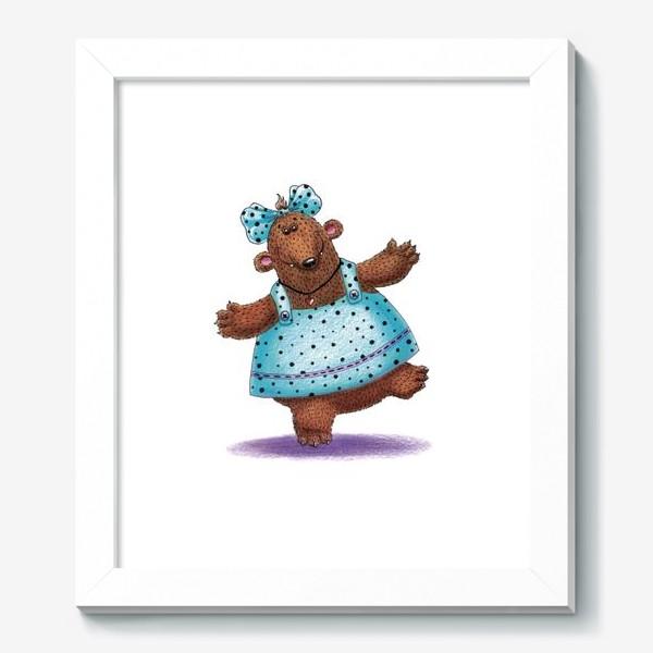 Картина «Медведица в платье»