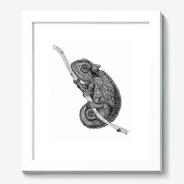 Картина «хамелеон»