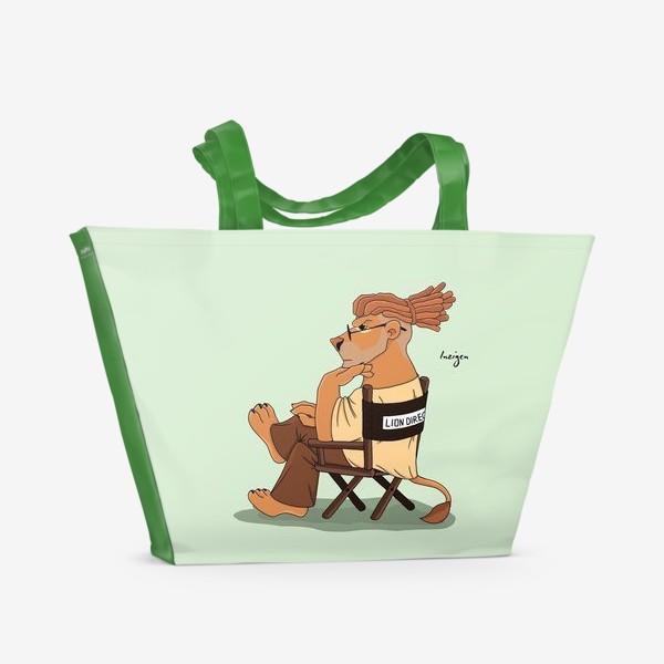 Пляжная сумка «DIRECTOR (лев)»