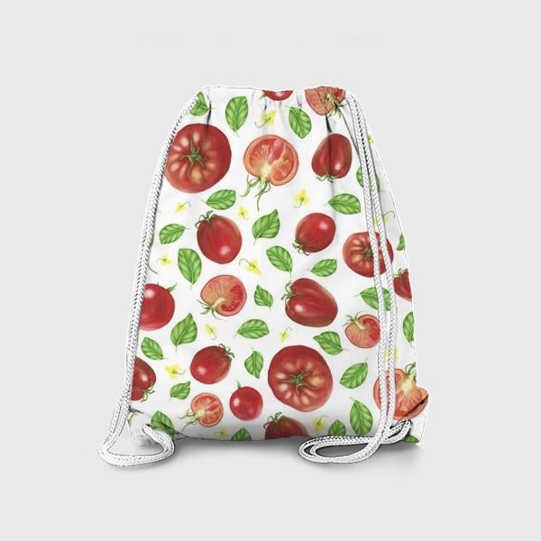 Рюкзак «Томаты и базилик»