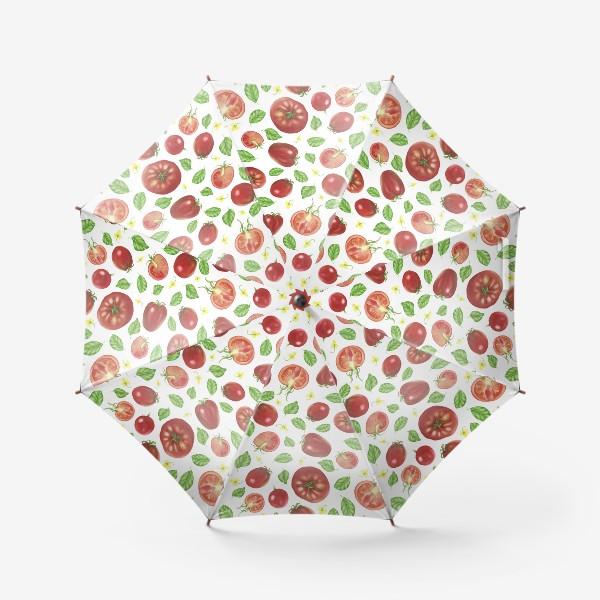 Зонт «Томаты и базилик»