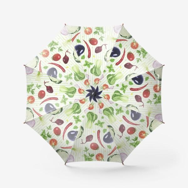 Зонт «Овощной принт»