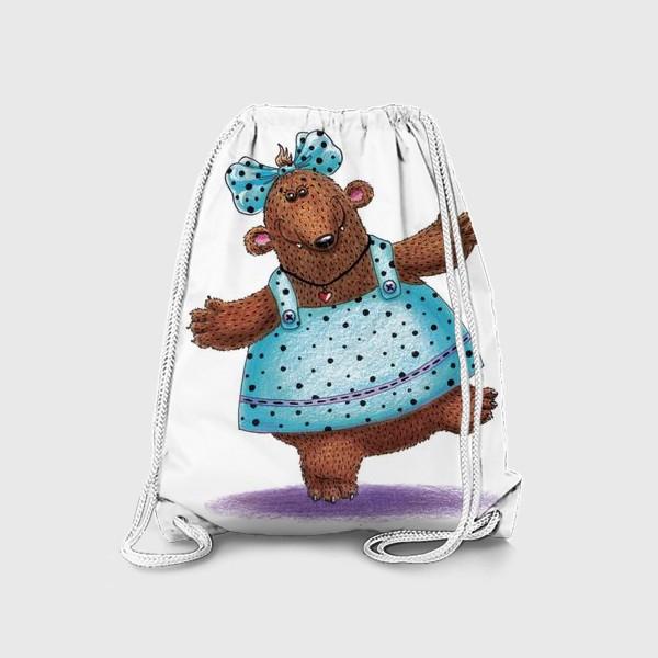 Рюкзак «Медведица в платье»