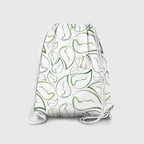 Рюкзак «Паттерн листья»