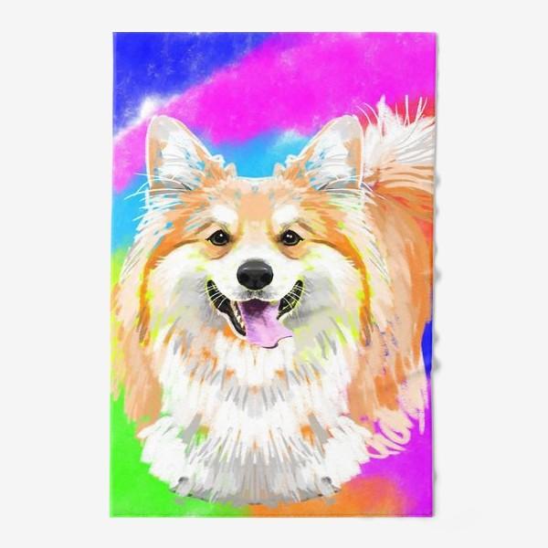 Полотенце «Пес корги»