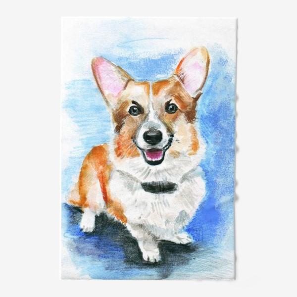 Полотенце «Королевская собачка вельш-корги пемброк»
