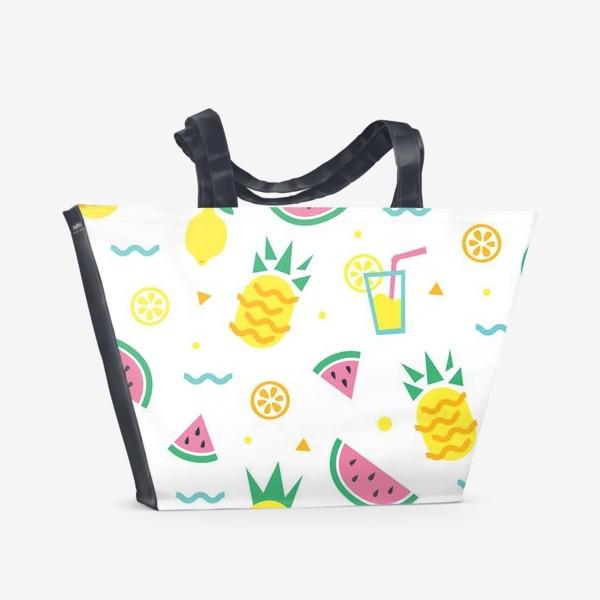 Пляжная сумка «Летний принт»