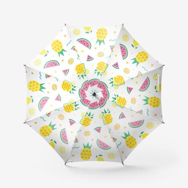 Зонт «Летний принт»