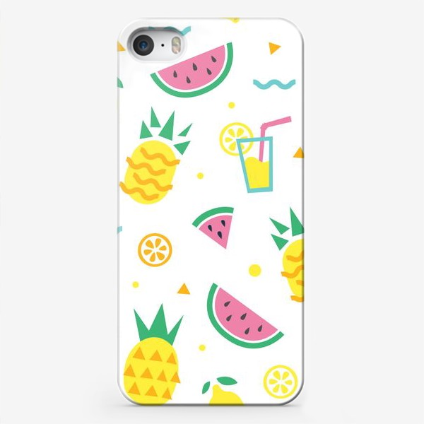 Чехол iPhone «Летний принт»
