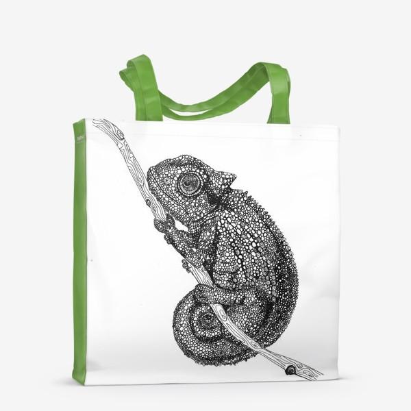 Сумка-шоппер «хамелеон»