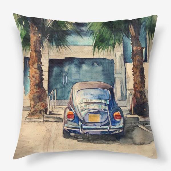 Подушка «Под пальмами »