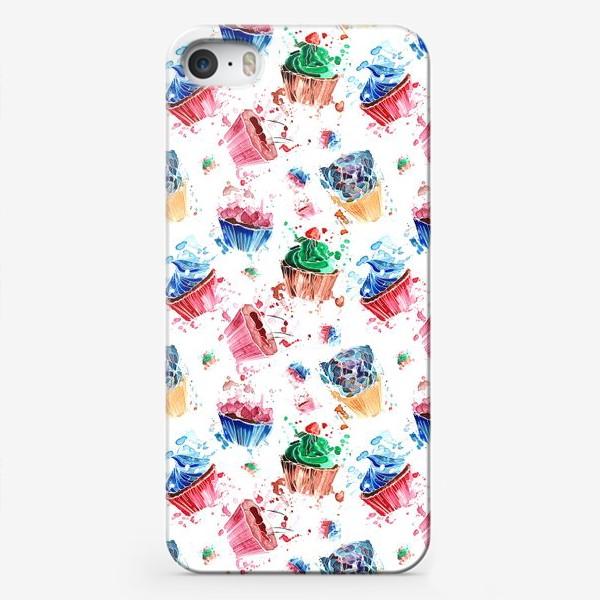 Чехол iPhone «Кексики»