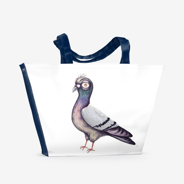 Пляжная сумка «Голубь»