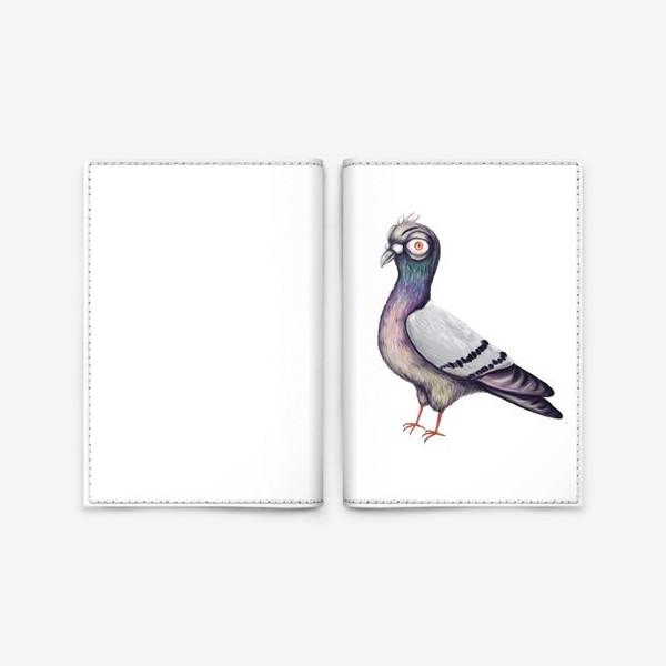 Обложка для паспорта «Голубь»