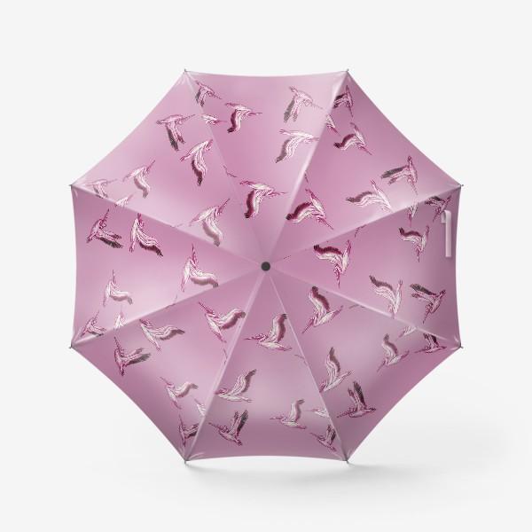 """Зонт «""""Пеликаны на рассвете""""»"""