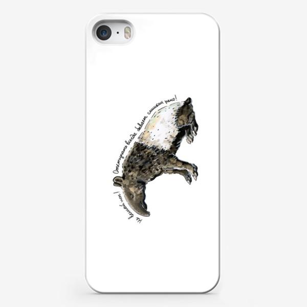 Чехол iPhone «ТАПИР »
