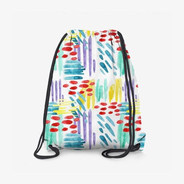 Рюкзак «Акварельный Дождь»