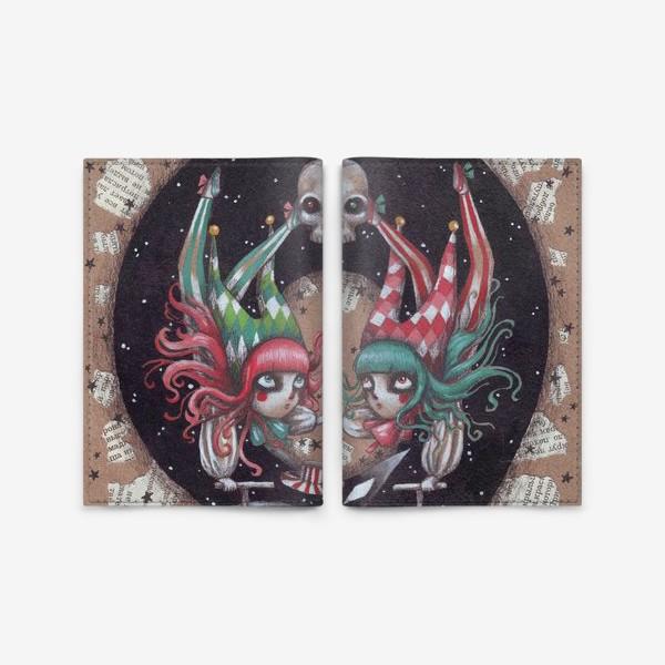 Обложка для паспорта «Карнавал Кошмаров»