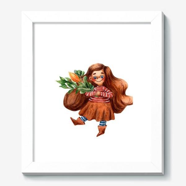 Картина «Маленькая садовница»