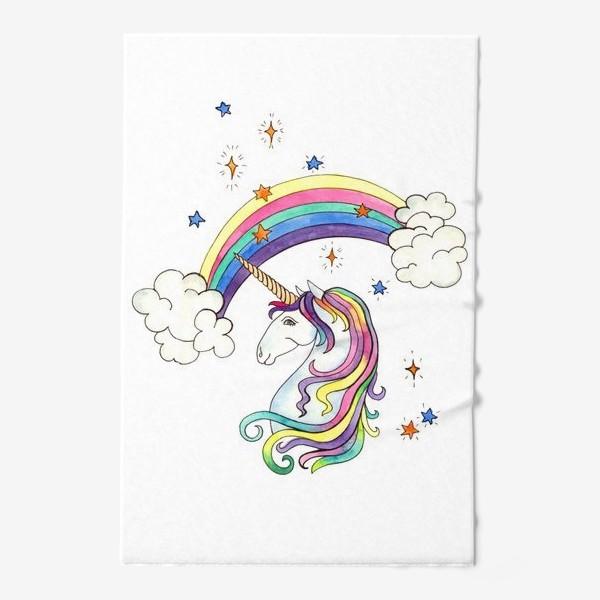 Полотенце «Радужный единорог»