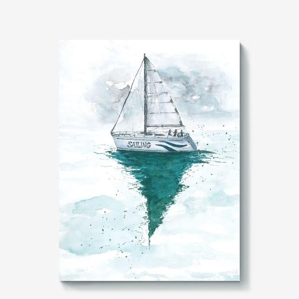 Холст «Морская серия: Яхта»