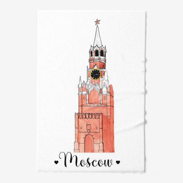 Полотенце «Москва.Кремль»