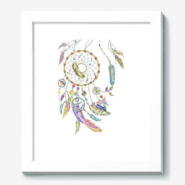 Картина «Ловец снов на белом»