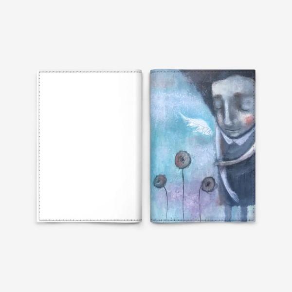 Обложка для паспорта «Девочка полна надежд»