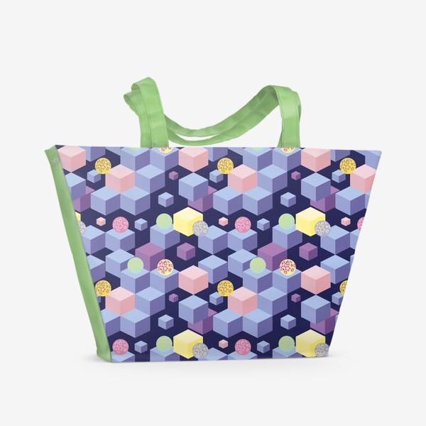 Пляжная сумка «Изометрия»