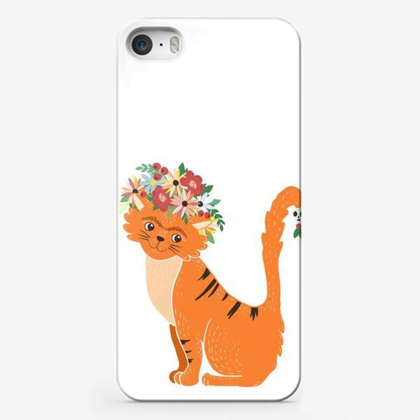 Чехол iPhone «Мексиканская киса»