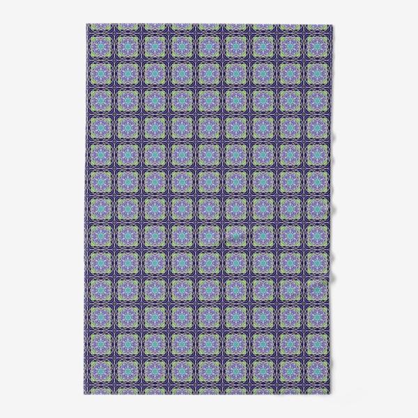 Полотенце «Геометрия со звездами»