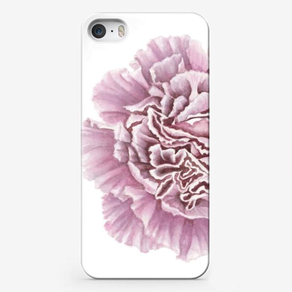 Чехол iPhone «Розовая гвоздика цветок Carnation»