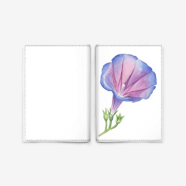 Обложка для паспорта «Петуния Petunia»