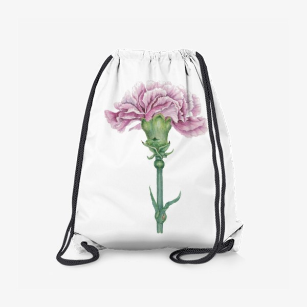 Рюкзак «Розовая гвоздика ветка Carnation»