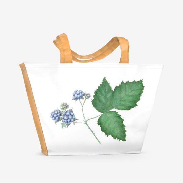 Пляжная сумка «Ежевика Blackberry»